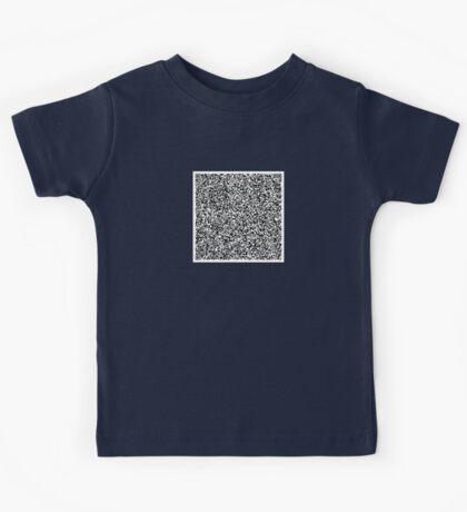 interjection QR code Kids Tee