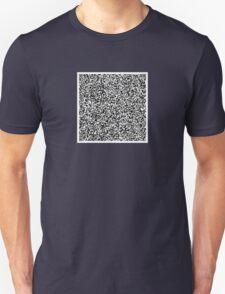 interjection QR code Unisex T-Shirt