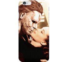 Michael Myers as Clark Gable iPhone Case/Skin