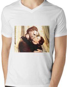 Michael Myers as Clark Gable Mens V-Neck T-Shirt