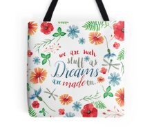 SHAKESPEARE: WE ARE DREAMS Tote Bag