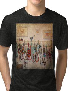 Bathroom Beads Tri-blend T-Shirt
