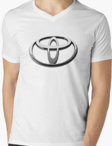 Toyota Logo Mens V-Neck T-Shirt