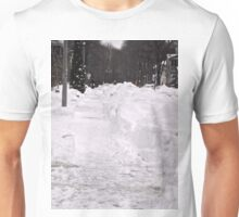 Snow Banks, Ottawa, ON Canada Unisex T-Shirt