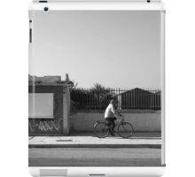 Ostia seafront: cyclist iPad Case/Skin