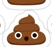 Cute Poop Sticker