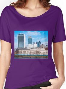 City of London in Winter Women's Relaxed Fit T-Shirt