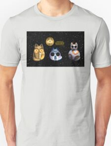 Dana's world of Cats - Purr Wars droids T-Shirt
