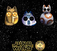 Dana's world of Cats - Purr Wars droids by Kaizoku-hime