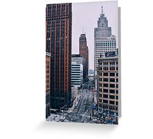 Detroit Greeting Card