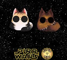 Dana's world of Cats - Purr Wars pilot and co-pilot by Kaizoku-hime