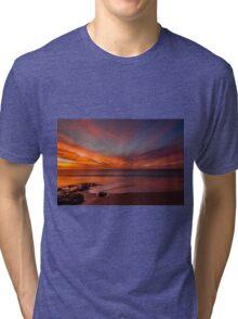 New Year Sunset Tri-blend T-Shirt