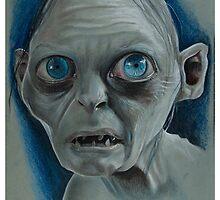 Gollum by ZAXERART