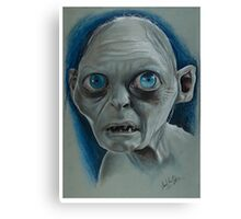 Gollum Canvas Print