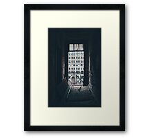 Abandon buildings Framed Print