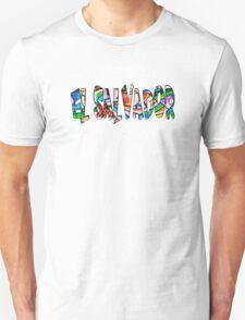 El Salvador colorido Unisex T-Shirt