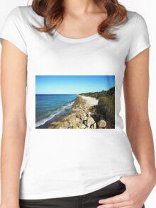 Caspersen Beach Women's Fitted Scoop T-Shirt