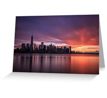 30 Seconds Before Sunrise Greeting Card