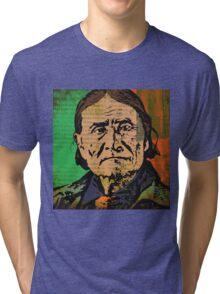 GERONIMO-APACHE Tri-blend T-Shirt