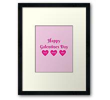Parks & Rec: Galentines Day  Framed Print