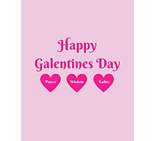 Parks & Rec: Galentines Day  Photographic Print