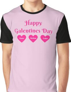 Parks & Rec: Galentines Day  Graphic T-Shirt