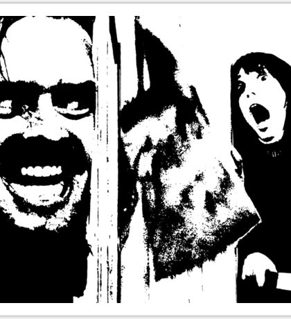 Here's Johnny! - The Shining Sticker
