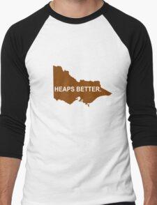 Victoria: Heaps Better Men's Baseball ¾ T-Shirt