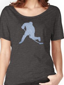 Hockey ice silhouette Women's Relaxed Fit T-Shirt