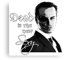 Dead is the new Sexy Canvas Print