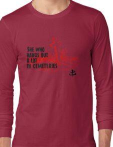 Slayer [comma] the Long Sleeve T-Shirt