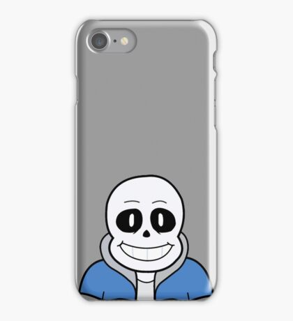 Sans the Skeleton iPhone Case/Skin