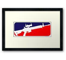 Major League Framed Print