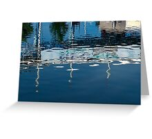 Whimsical Liquid Abstracts One Greeting Card