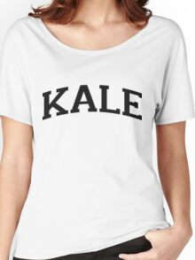 KALE Black Ink Women's Relaxed Fit T-Shirt
