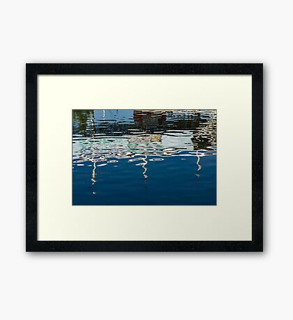 Whimsical Liquid Abstracts Two Framed Print