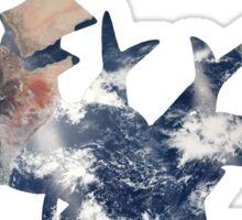 Arceus Earth Silhouette Sticker