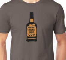 Protect Drunk Girls Unisex T-Shirt