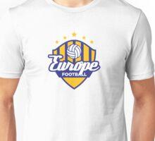 Football crest of Europe Unisex T-Shirt