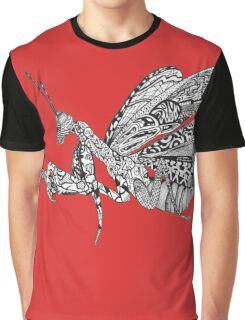 Zen Mantis Graphic T-Shirt