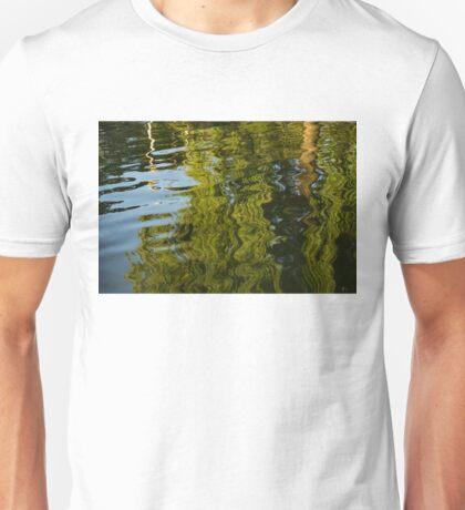 Mesmerizing Summer - Reflecting on Green Trees - One Unisex T-Shirt