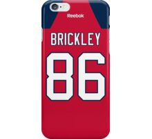 Florida Panthers Connor Brickley Jersey Back Phone Case iPhone Case/Skin