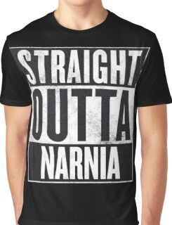 Straight Outta Narnia Graphic T-Shirt