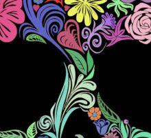 Skull Floral Sticker