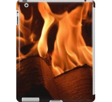 Fire In A Fireplace 2 iPad Case/Skin
