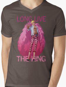 One Piece - Doflamingo: Long Live The King Mens V-Neck T-Shirt