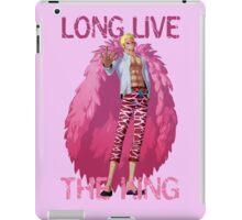 One Piece - Doflamingo: Long Live The King iPad Case/Skin