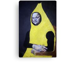 Mona Lisa Goes Bananas Canvas Print