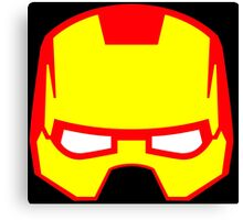 Super hero mask (Iron man) Canvas Print