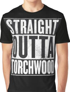 Straight Outta Torchwood Graphic T-Shirt